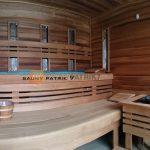 Sauny patrik 7 - kombinovana sauna