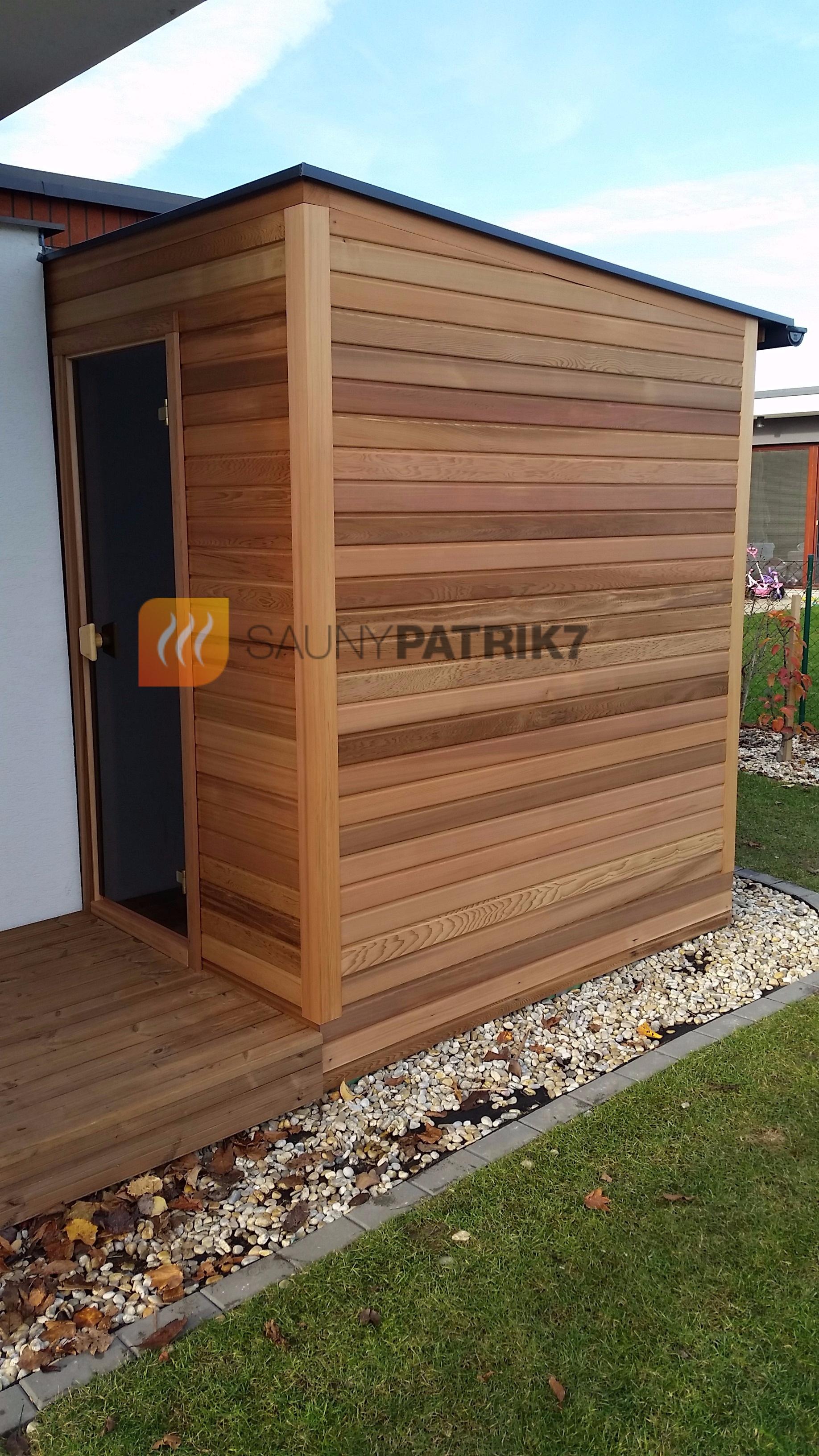 sauna exterier - Sauny Patrik 7