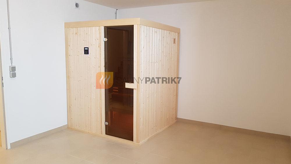 finska sauna na mieru