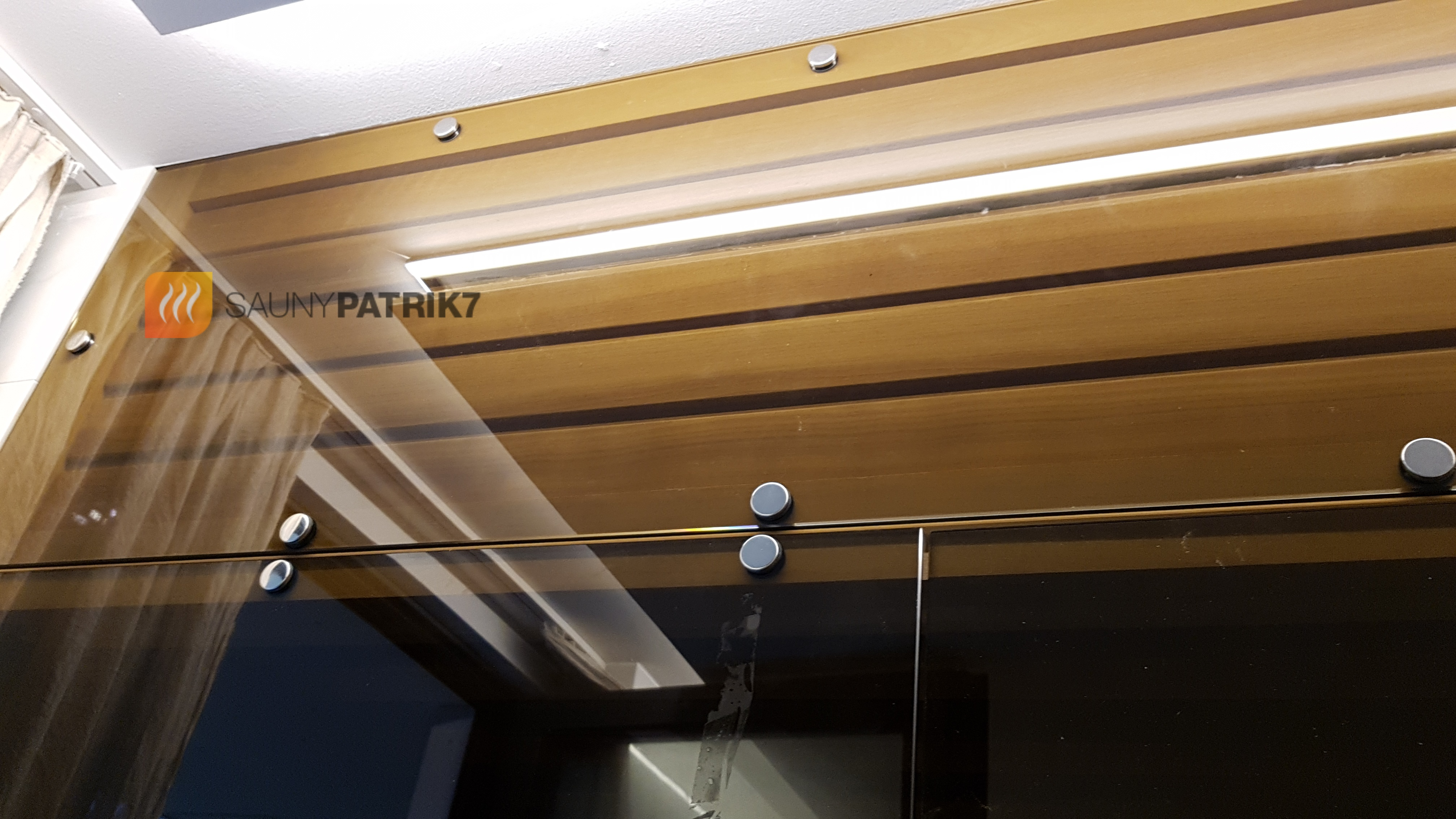 detail presklenia na mieru - exklusive - sauny patrik 7
