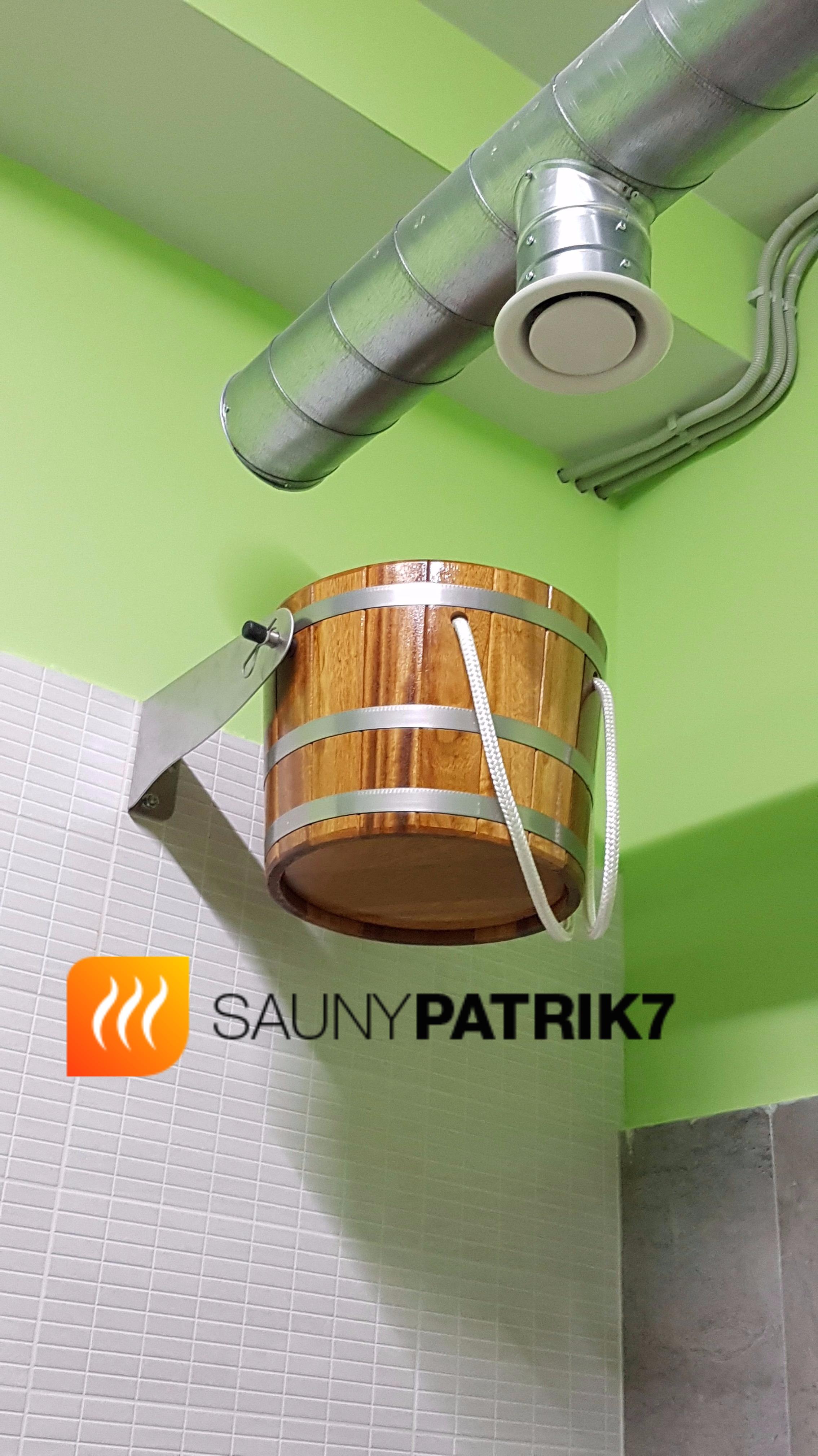 Sauny Patrik 7 - vedro