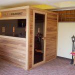 infra sauna na mieru - exterier - sauny patrik 7