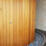 kruhová sauna na mieru so sprchou - sauny patrik 7