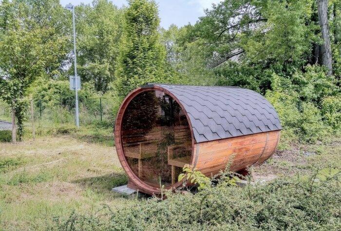 sudova sauna - exterier
