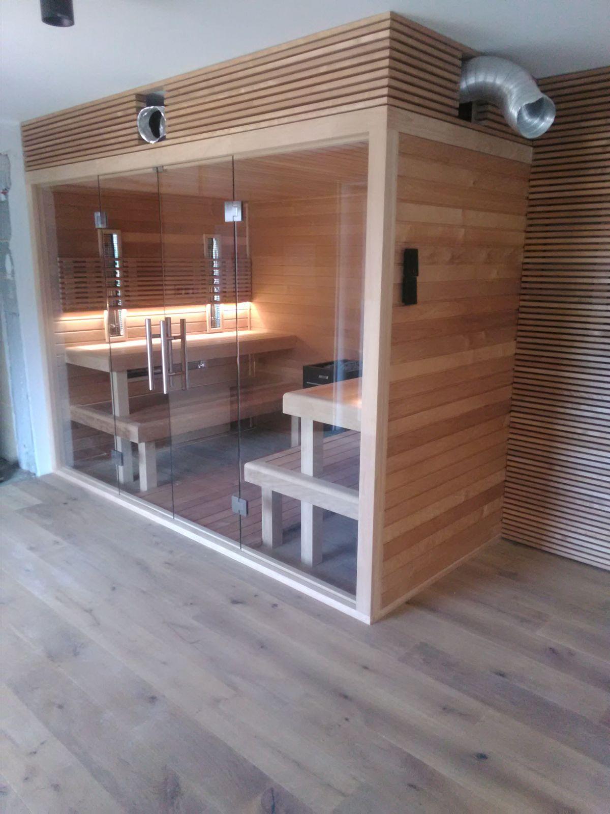 kombinovana sauna na mieru - termoosika