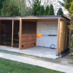 exterierova kombinovana sauna, s prestresenim - sauny patrik 7