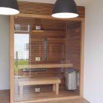 kominovana sauna na mieru